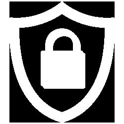 Logo Données RGPD - Blanc